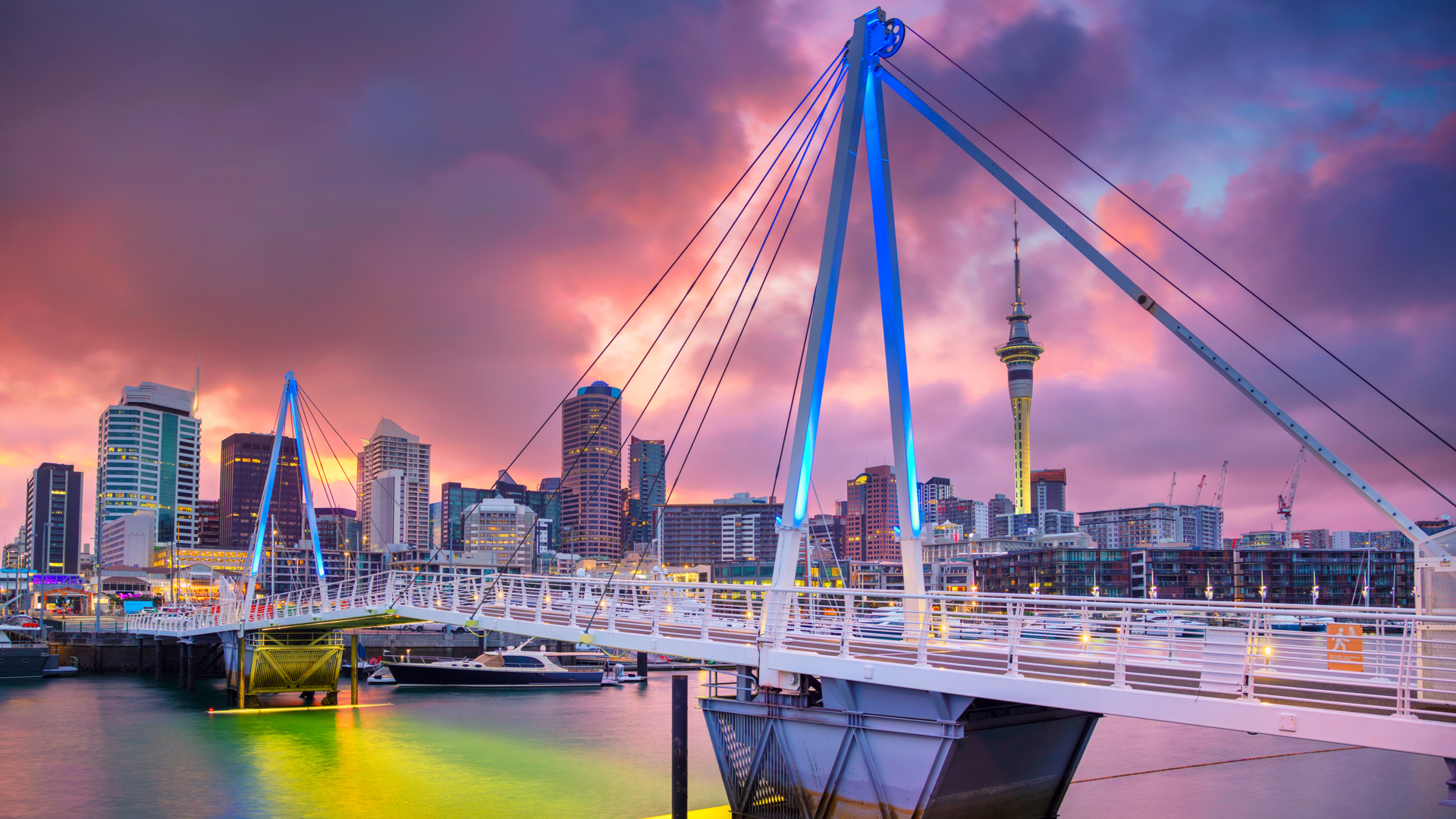 Auckland, New Zealand - her innførte myndighetene inflasjonsmål
