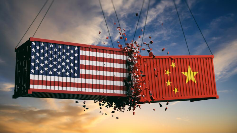 handelskrig mellom USA og Kina