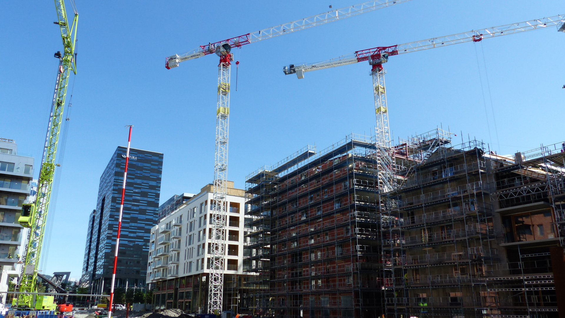 Færre byggeprosjekter i pressområder