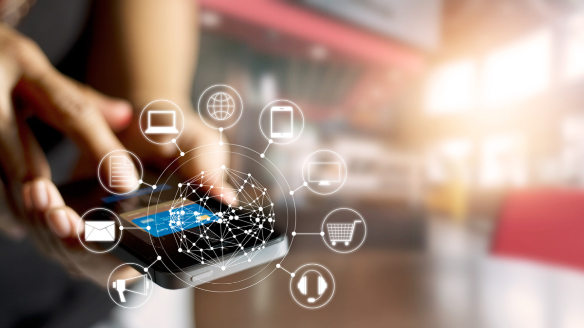 mobil betaling på tvers av kanalene