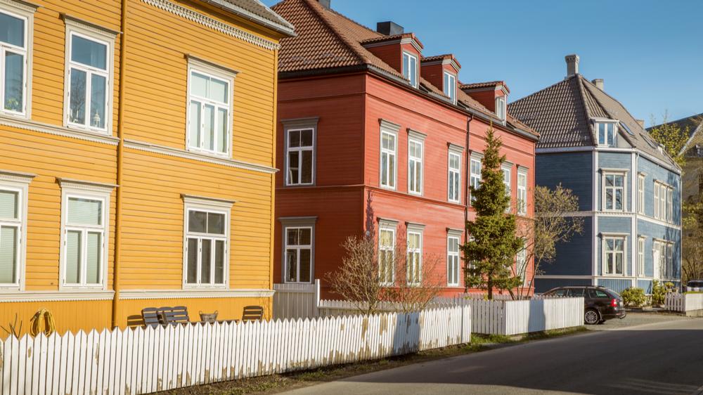 Boligrente og hus i Trondheim